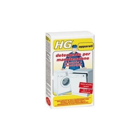 Detergente per manutenzione di lavatrici e lavastoviglie 100g. x 2