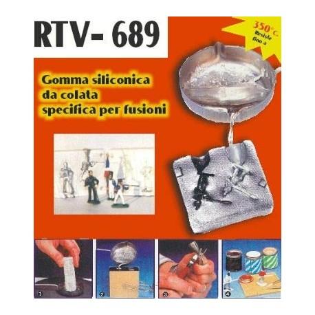 RTV-689 500 Gr. - GOMMA DA COLATA SPECIFICA PER FUSIONI CON LEGHE BASSO FONDENTI