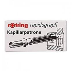 CARTUCCE RAPIDOGRAPH 3 pz. - NERO