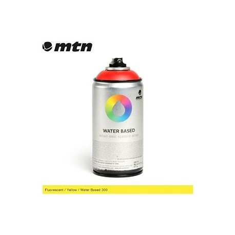 WATER BASED - SPRAYPAINT 300 - 300ml. - ECOLOGICO FLUO