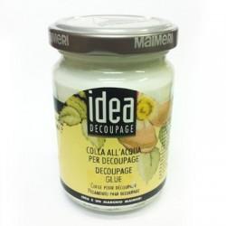 IDEA DECOUPAGE - COLLA ALL'ACQUA PER DECOUPAGE 125ml.
