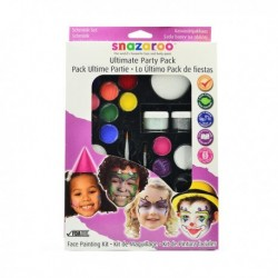 FACE PAINTING KIT SNAZAROO - ULTIMATE PARTY PACK