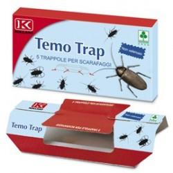 TEMO TRAP - Trappola adesiva per scarafaggi 5 trappole