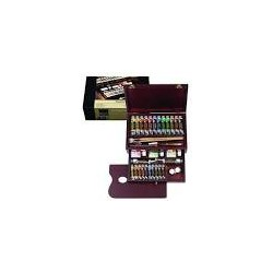 OIL COLOUR BOX MASTER ARTISTS' QUALITY - COLORI AD OLIO EXTRA FINI