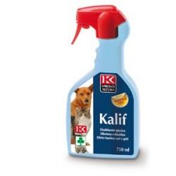 KALIF cani e gatti - Disabituante igienico per cani, gatti, uccelli e topi 750ml.