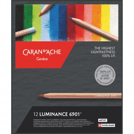 CARAN D'ACHE Luminance 6901 set di matite colorate