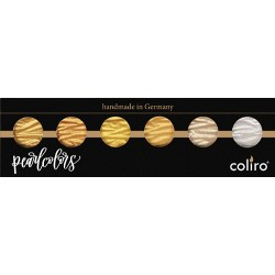 Coliro Pearl Colors-Acquarelli metallizzati