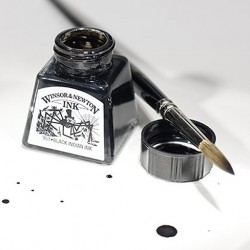 WINSOR & NEWTON  DRAWING INK 14ML.