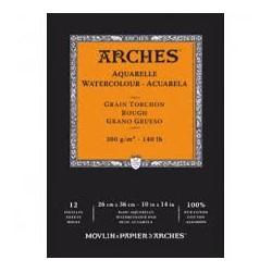 ARCHES AQUARELLE - A5 - BLOCCHI INCOLLATI 1 LATO - BIANCO NATURALE