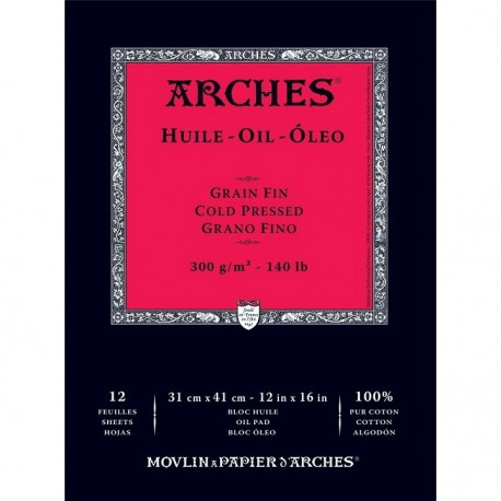ARCHES HUILE - CARTA PER OLIO
