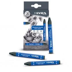 Lyra Pastello in Grafite Acquerellabile