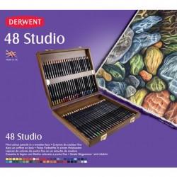 DERWENT - CASSETTA STUDIO 48 MATITE - MATITE STUDIO