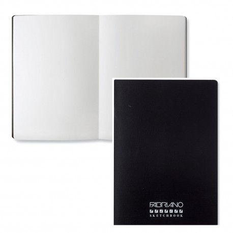 Fabriano Accademia Sketchbook 120 GSM A4, Paper Colour - White, 24 Sheets