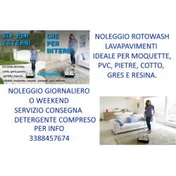 NOLEGGIO ROTOWASH MILANO