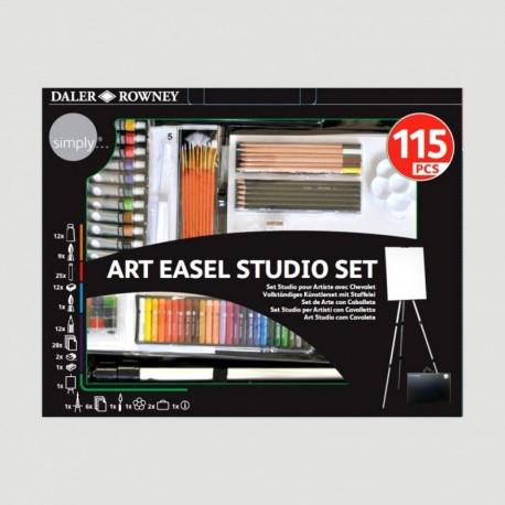 ART EASEL STUDIO SET - 115PZ