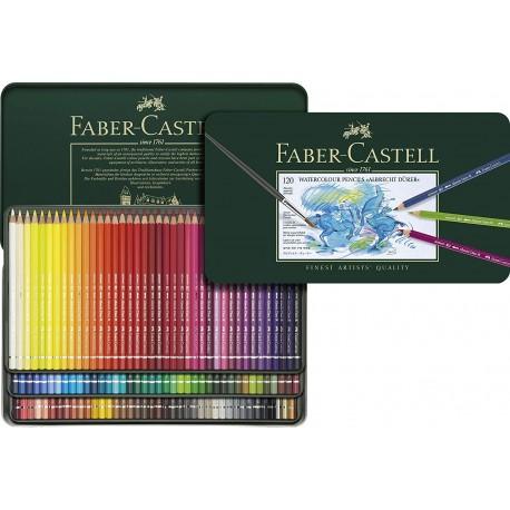 Faber-Castell Set di Pastelli Colorati DURER acquarellabili 120pz