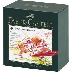 Faber-Castell Studio Box 48 Pitt Artist Penna