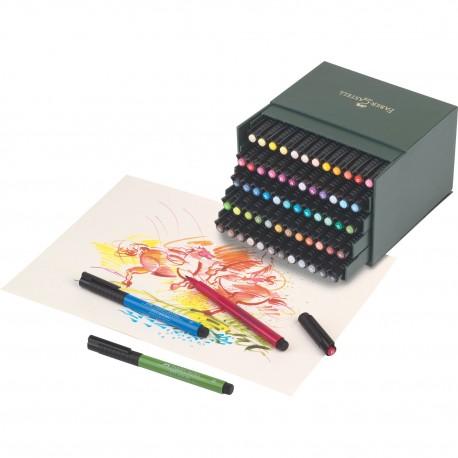 Faber-Castell - Pitt artist pen, box 60 colori