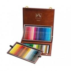 PABLO - scatola in legno 120 colori resistenti all'acqua