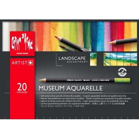 MATITE  MUSEUM AQUARELLE LANDSCAPE 20 COLORI