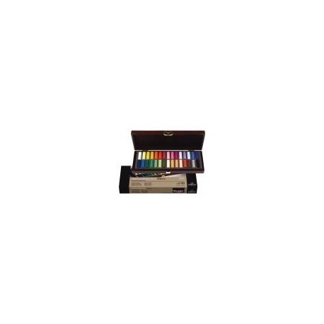 REMBRANDT SOFT PASTELS GENERAL SELECTION BASIC BOX - 30 MEZZI PASTELLI