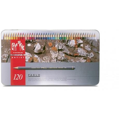 PABLO - scatola metallo 120 colori