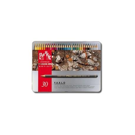 PABLO - scatola metallo 30 colori