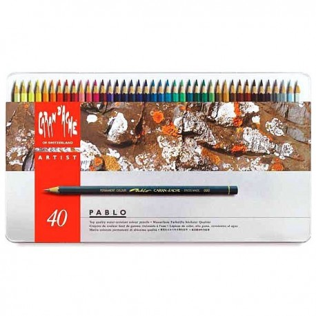 PABLO - scatola metallo 40 colori
