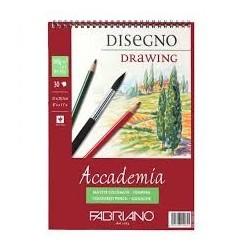 ACCADEMIA DRAWING - BLOCCO SPIRALATO