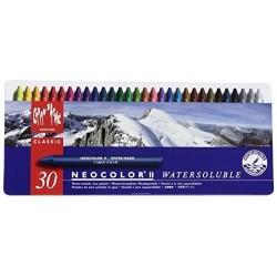 NEOCOLOR II SCATOLA METALLO 30 COLORI