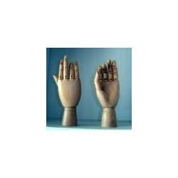 Mani in legno snodabile
