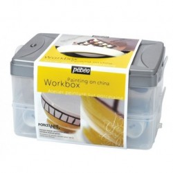 WORKBOX PAINTING PORCELAINE 150 colori