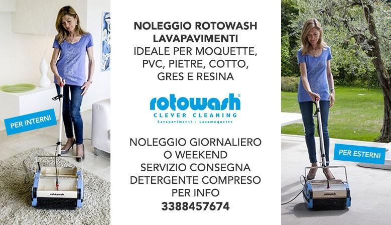NOLEGGIO ROTOWASH CON SERVIZIO DI CONSEGNA E PRESA!!
